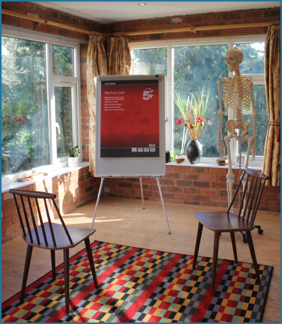 Photo of the studio at Boat Cottage